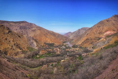 Berber-Dorf lizenzfreies stockbild