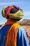 Berber en las montañas de atlas en Marruecos, África imagen de archivo