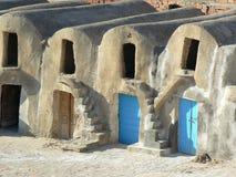 Berber granary. Ksar a curious Berber granary Stock Photos