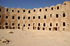 Berber granary, Libya Stock Image