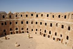 Berber granary, Libya Stock Photos