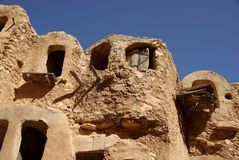 Berber granary, Libya Stock Photos