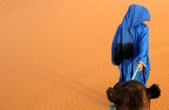 Berber guide stock image
