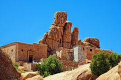 Berber house Stock Photography
