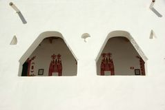 Berber house in Ghadames, Libya Royalty Free Stock Photos