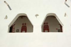 Berber house in Ghadames, Libya royalty free stock photos