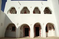 Berber house in Ghadames, Libya Royalty Free Stock Images