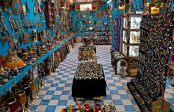 Berber Jewelry Shop Stock Photography