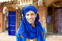 Berber man stock photo