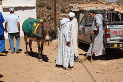 Berber market Stock Photos