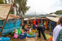 Berber Market Scene Stock Photo