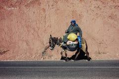 Berber Marocko Royaltyfri Bild