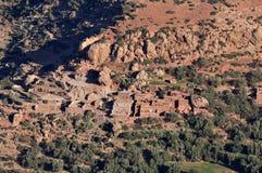 berber Morocco mała wioska Obraz Stock