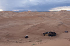 Berber obóz Zdjęcie Stock