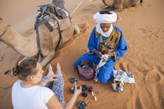 Berber people Royalty Free Stock Image