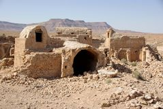 Berber ruins in Libya Stock Photo