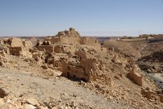 Berber ruins in Libya Royalty Free Stock Photography