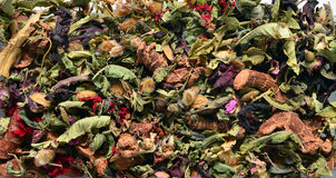 Berber tea background Stock Photography