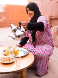 Berber Tea Royalty Free Stock Photos