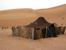 Berber tent. A Berber tent in the Sahara desert in Morocco Stock Photos