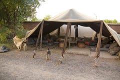 Berber tent in Morocco Stock Image