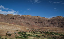 Berber village Stock Images