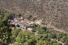 Berber village, Morocco. Royalty Free Stock Photography