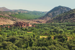 Berber village Stock Images