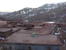 Berber wioska w atlant górach Maroko Obraz Stock