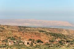 Berber wioska w dades dolinnych Zdjęcia Royalty Free