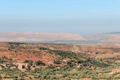 Berber wioska w dades dolinnych Fotografia Royalty Free