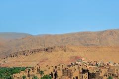 Berber wioska w dades dolinnych Zdjęcia Stock