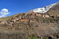 Berber wioski Toubkal park narodowy Fotografia Stock