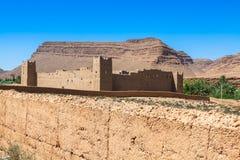 Berber wioski w pustynnym Morocco Zdjęcie Stock