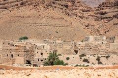 Berber wioski w pustynnym Morocco Obraz Stock