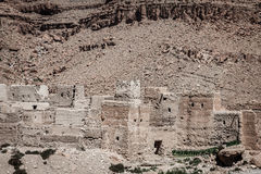 Berber wioski w pustynnym Morocco Fotografia Royalty Free