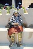 Berber woman Oman Stock Photography