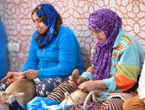 Berber women working, Morocco Stock Photos