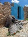 Berber-Zimmertür, Tunesien Stockbild