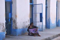 Berbera mental hospital. BERBERA, SOMALIA - JANUARY 10, 2010: Berbera mental hospital. The majority of patients treated for depression and post-traumatic Royalty Free Stock Photo
