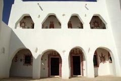 berberghadameshus libya royaltyfria bilder