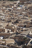 Berberian village in tunisia Royalty Free Stock Images