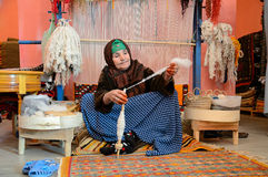Berberkvinna Arkivfoto
