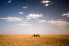 Berbers house. At the border of Sahara, Morocco Stock Photography