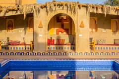 Berbersymbol för frihet, Marocko Arkivfoto