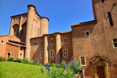 The Berbie palace in Albi. This fortress is a former episcopal Palace Stock Photography