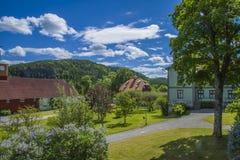 Berby rezydenci ziemskiej dom, farmyard Zdjęcie Royalty Free
