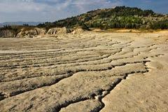 Berca Buzau, вулканы грязи Стоковое фото RF