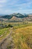 Berca Buzau, volcans de boue Photographie stock