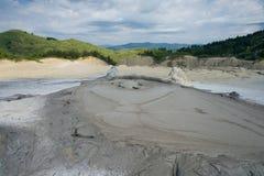 Berca Mud Volcano bubble stock photos